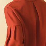 magli invernale in cotone con collo alto giotta