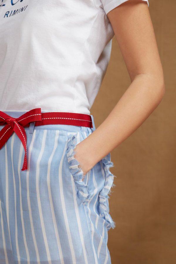 pantalone estivo con rouges